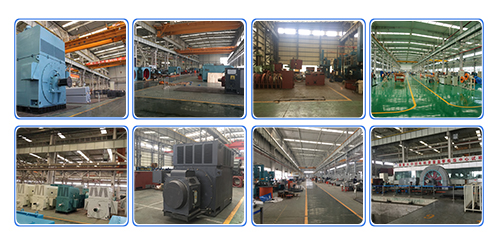 High Voltage Rib Cooled Motors