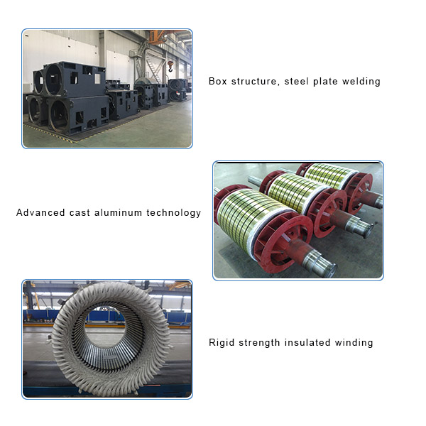 GOST A4 Series High Voltage Motor