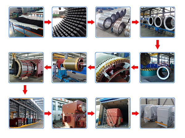 High Voltage Wound Rotor Induction Motor