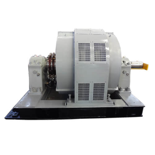 Heavy Duty High Voltage Slip Ring Motor